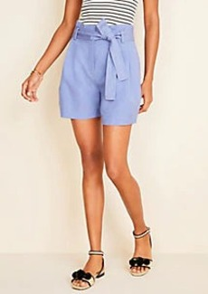 Ann Taylor The Paperbag Belted Short