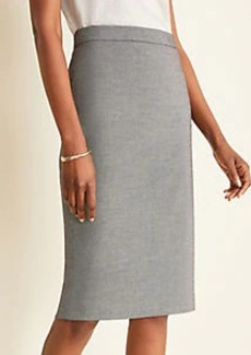 Ann Taylor The Pencil Skirt in Birdseye