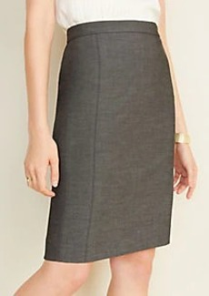 Ann Taylor The Pencil Skirt in Bi-Stretch