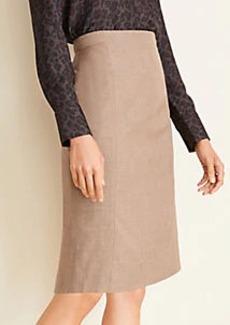 Ann Taylor The Pencil Skirt in Melange