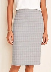 Ann Taylor The Pencil Skirt in Plaid