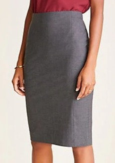 Ann Taylor The Pencil Skirt in Tropical Wool