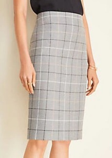 Ann Taylor The Pencil Skirt in Windowpane