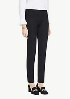 Ann Taylor The Petite Ankle Pant In Cotton Twill - Curvy Fit