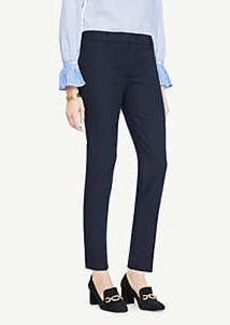 Ann Taylor The Petite Ankle Pant In Cotton Twill