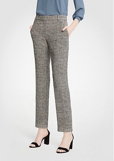 Ann Taylor The Petite Ankle Pant In Crosshatch