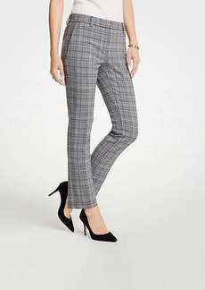 Ann Taylor The Petite Ankle Pant In Dash Plaid - Curvy Fit