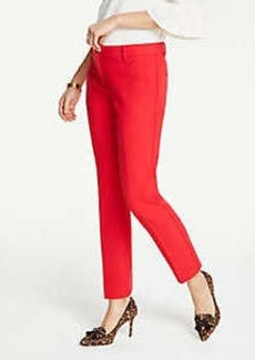 Ann Taylor The Petite Ankle Pant In Doublecloth - Curvy Fit