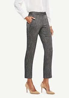 Ann Taylor The Petite Ankle Pant In Herringbone - Devin Fit