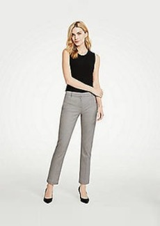 Ann Taylor The Petite Ankle Pant In Herringbone