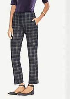 Ann Taylor The Petite Ankle Pant In Plaid - Devin Fit