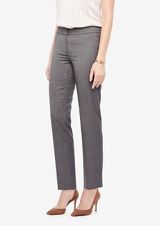 Ann Taylor The Petite Ankle Pant In Sharkskin - Curvy Fit