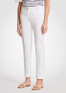 Ann Taylor The Petite Curvy Crop Pant