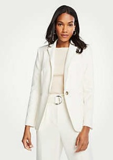 Ann Taylor The Petite Hutton Blazer in Doubleweave