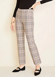 Ann Taylor The Petite Kick Crop Pant in Plaid