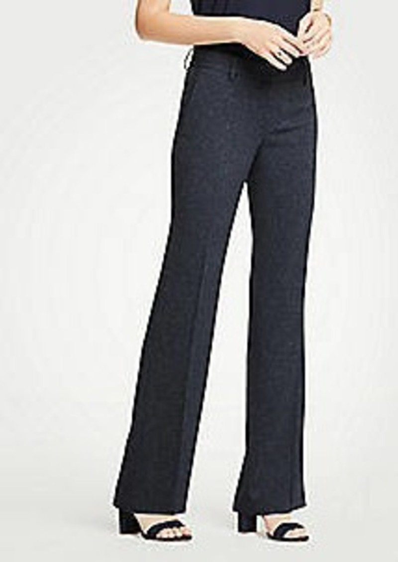 Ann Taylor The Petite Madison Trouser In Speckled Twill