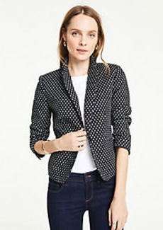 Ann Taylor The Petite Newbury Blazer in Ikat