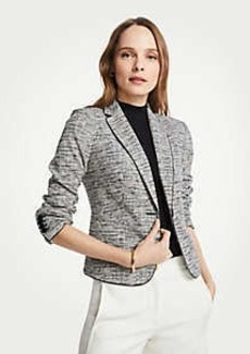 Ann Taylor The Petite Newbury Blazer in Marled Knit