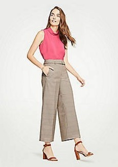 Ann Taylor The Petite Plaid Marina Pant