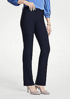 Ann Taylor The Petite Straight Leg Pant - Curvy Fit