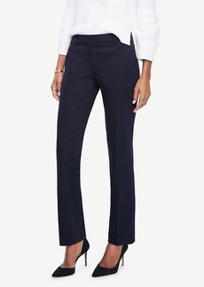 The Petite Straight Leg Pant in Cotton Sateen - Kate Fit