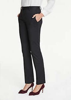Ann Taylor The Petite Straight Leg Pant In Pindot - Classic Fit