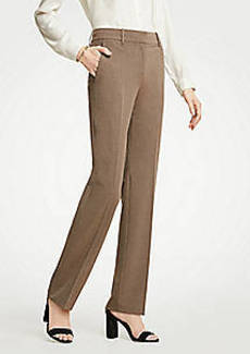 Ann Taylor The Petite Straight Leg Pant In Seasonless Stretch - Classic Fit