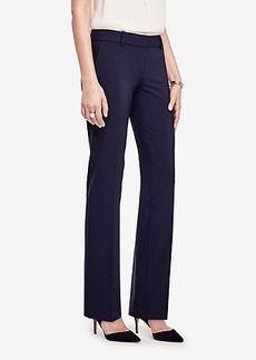 Ann Taylor The Petite Straight Leg Pant in Seasonless Stretch - Curvy Fit