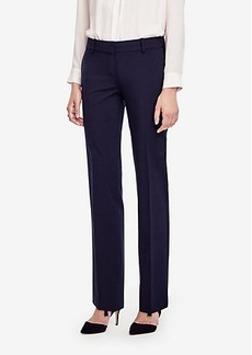 Ann Taylor The Petite Straight Leg Pant in Seasonless Stretch