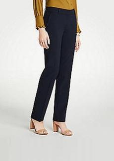 Ann Taylor The Petite Straight Leg Pant In Seasonless Stretch