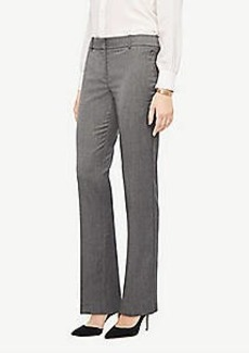 Ann Taylor The Petite Straight Leg Pant In Sharkskin - Classic Fit