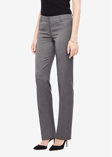 Ann Taylor The Petite Straight Leg Pant In Sharkskin