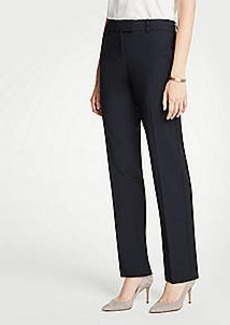 Ann Taylor The Petite Straight Leg Pant In Tropical Wool - Classic Fit