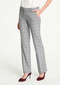 Ann Taylor The Petite Trouser In Glen Plaid