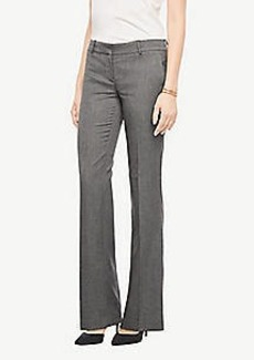 Ann Taylor The Petite Trouser In Sharkskin - Curvy Fit