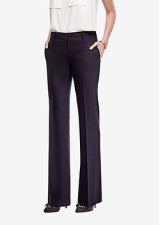 Ann Taylor The Petite Trouser In Tropical Wool