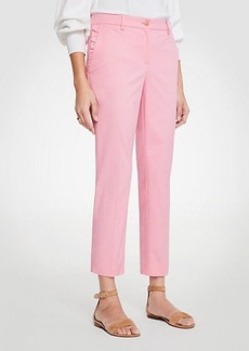 Ann Taylor The Ruffle Crop Pant