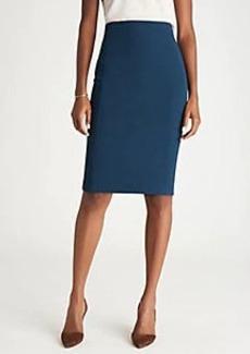 Ann Taylor The Seamed Pencil Skirt in Bi-Stretch