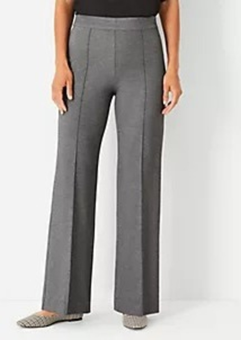 Ann Taylor The Side Zip Straight Pant