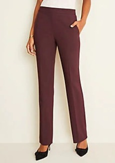 Ann Taylor The Side-Zip Straight Pant in Bi-Stretch
