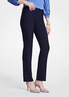Ann Taylor The Straight Leg Pant - Curvy Fit