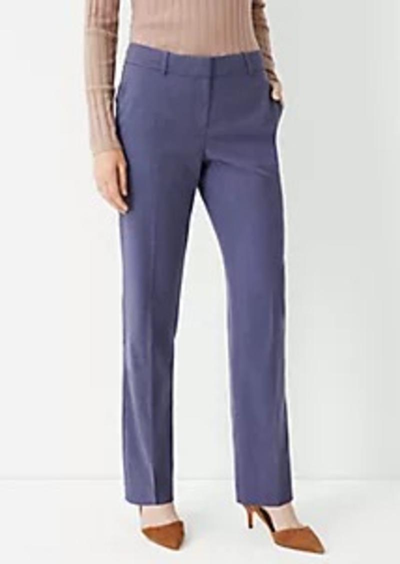 Ann Taylor The Straight Leg Pant