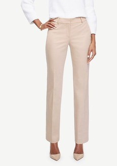 Ann Taylor The Straight Leg Pant in Cotton Sateen - Ann Fit