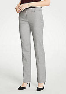 Ann Taylor The Straight Leg Pant In Flannel - Curvy Fit