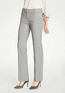 Ann Taylor The Straight Leg Pant In Flannel