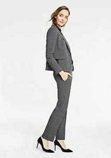Ann Taylor The Straight Leg Pant In Glen Plaid