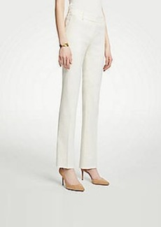 Ann Taylor The Straight Leg Pant In Linen Blend