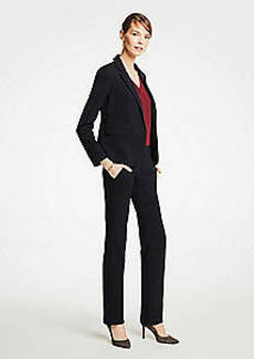 Ann Taylor The Straight Leg Pant In Pinstripe - Curvy Fit