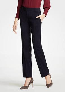 Ann Taylor The Straight Leg Pant In Pinstripe