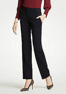 Ann Taylor The Straight Leg Pant In Pinstripe